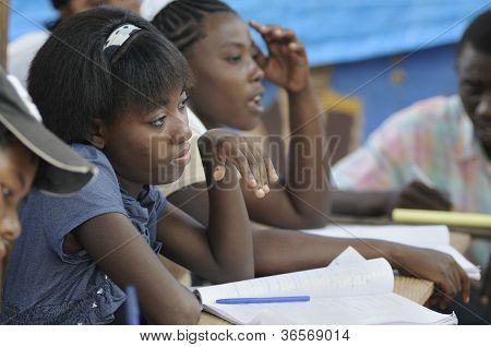School in Cite Soleil-Haiti.