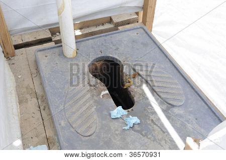 Public washroom.