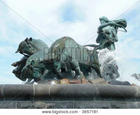 Gefion Goddess Fountain, Copenhagen