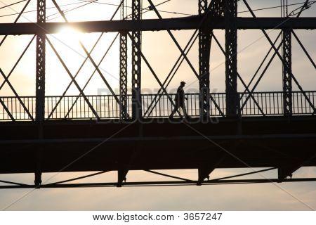 Crossing Of The Roebling Bridge