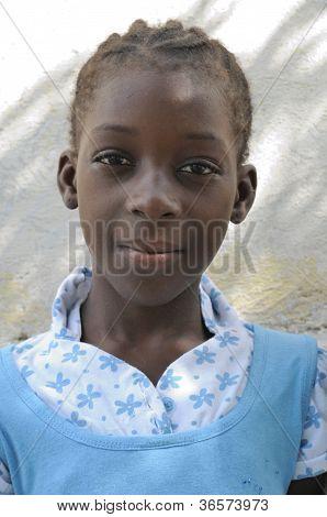 Haitian teen.