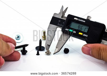 Calipers Measuring Bolt