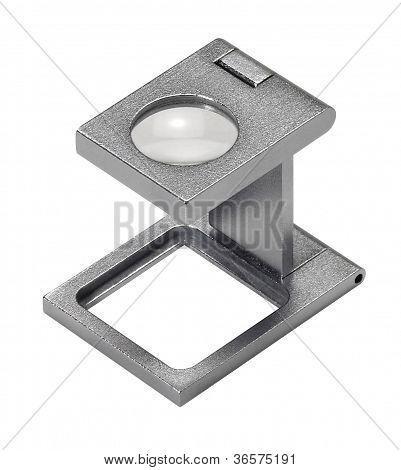 Metallic Magnifying Glass