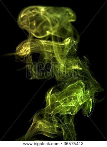 Green Smoke Detail