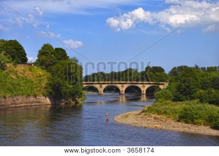 The River Tweed Near Coldstream