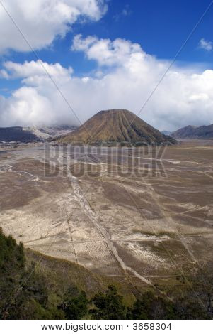 Caldera And Volcano