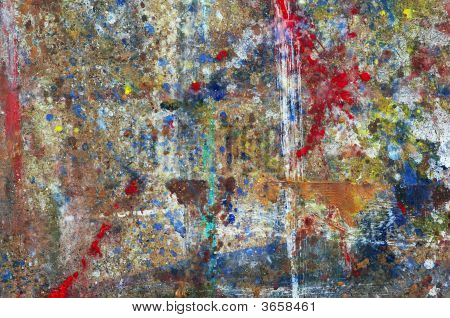 Blobs Of Paints