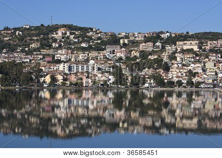 Argostoli city at Kefalonia island, Greece