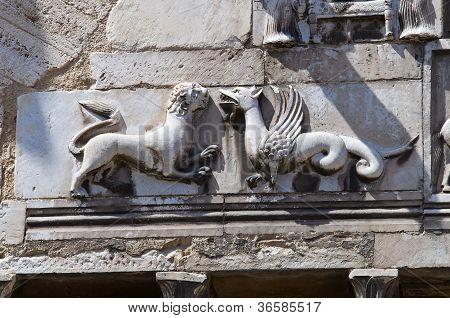 Communal palace. Narni. Umbria. Italy.
