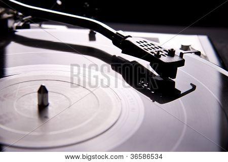 Vinyl Record Player Turntable Tonearm Cartridge With Needle