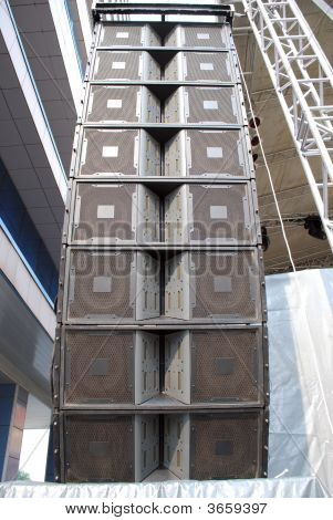 Loudspeaker Tower