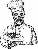 Skeleton Cook poster