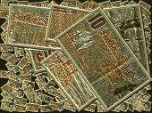 A Multitude Golden Ten Pound Notes