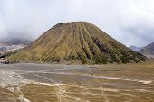 image of bator  - Volcano Bator near Bromo Java in Indonesia - JPG