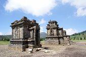 image of arjuna  - Arjuna complex on Dieng Plateau Java Indonesia - JPG