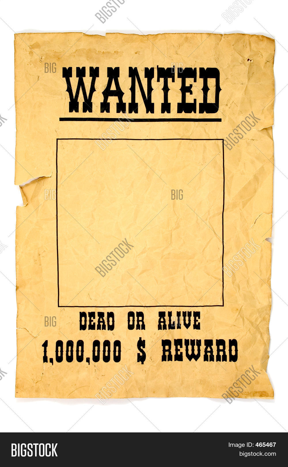 Wanted Poster Image Photo – Most Wanted Posters Templates