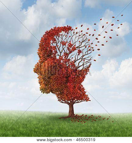 Perder a função cerebral