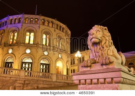 Stortinget Parliament Building