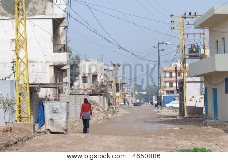 Refugee Camp Streets