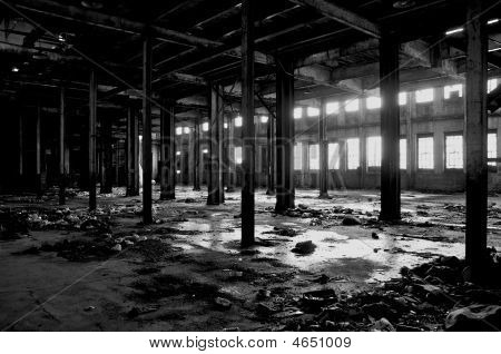 Abandoned Detroit Warehouse