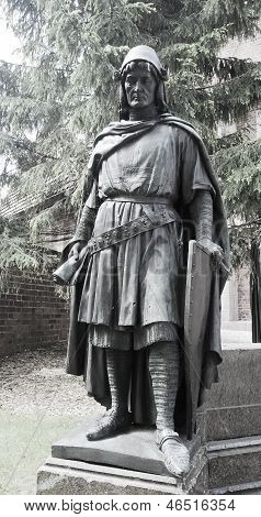 A Statue Of The Grand Masters