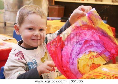 Kind Malerei