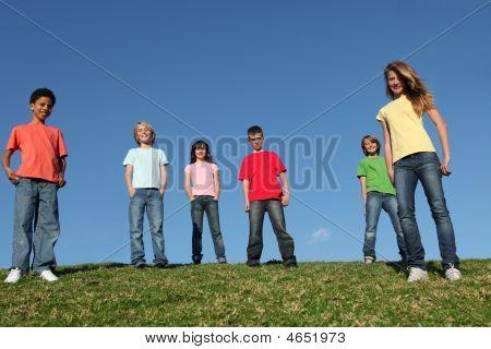 Img_6307 Diverse Group Of Kids At Summer Camp