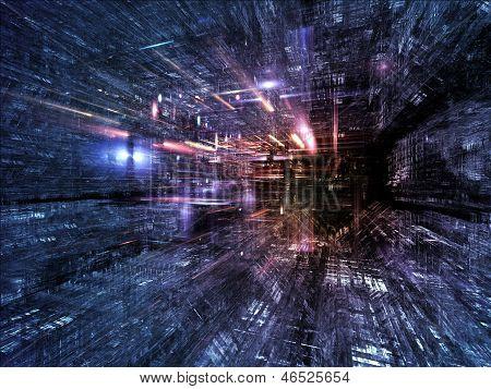 Vormarsch der Fraktale Dimensionen