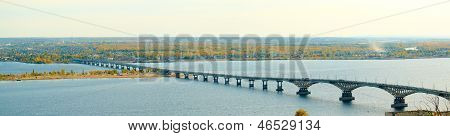 Saratov Bridge over the Volga
