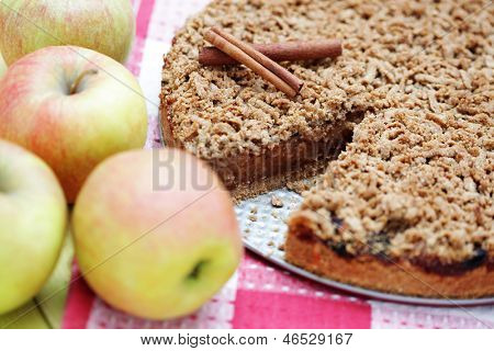 delicious apple pie - sweet food
