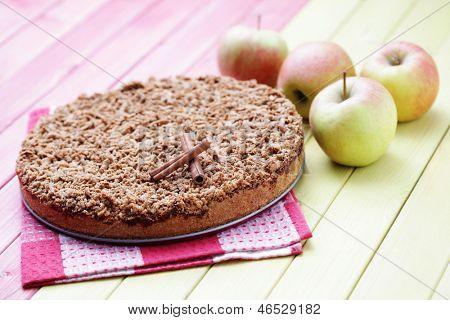 delicious apple pie - sweet food