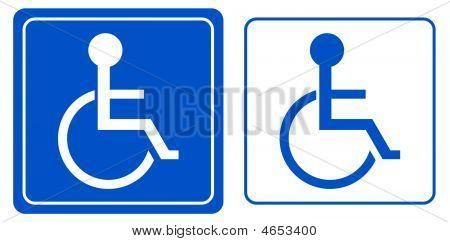Wheelchair Person Symbol