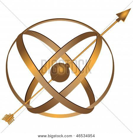 Metal Astrolabe