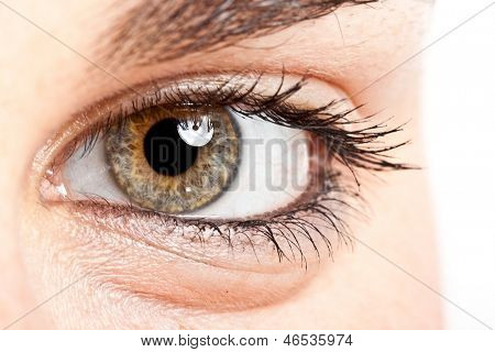 Eye of a beautiful woman