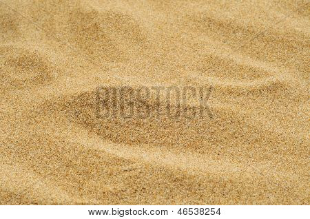 closeup of a pile of sand of a beach or a desert or a sandpit
