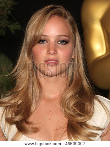 LOS ANGELES - FEB 7:  JENNIFER LAWRENCE arrives to the 83rd Academy Awards Nominees Luncheon  on Feb 7, 2011 in Beverly Hills, CA