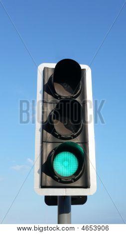 Traffic Light Green