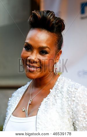 NEW YORK-MAY 30: Actress Vivica A. Fox attends the 5th annual Tuck's Celebrity Billiards Tournament at Slate NYC on May 30, 2013 in New York City.