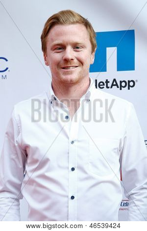 NEW YORK-MAY 30: New York Red Bulls player Dax McCarty attends the 5th annual Tuck's Celebrity Billiards Tournament at Slate NYC on May 30, 2013 in New York City.
