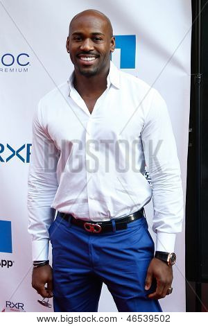 """NEW YORK-MAY 30: """"Biggest Loser"""" celebrity trainer Dolvett Quince attends the 5th annual Tuck's Celebrity Billiards Tournament at Slate NYC on May 30, 2013 in New York City."""