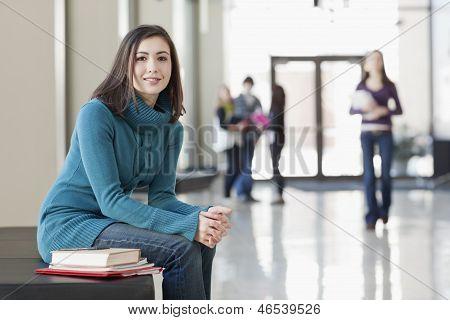 Campus Student Portrait