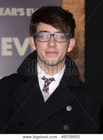 """LOS ANGELES - DEC 05:  KEVIN McHALE arriving to """"New Year's Eve"""" World Premiere  on December 5, 2011 in Hollywood, CA"""