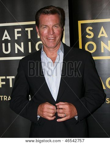 "LOS ANGELES - JUN 4:  Peter Bergman arrives at SAG-AFTRA Panel Discussion With The Cast Of ""The Young And The Restless"" at the SAG-AFTRA Headquarters on June 4, 2013 in Los Angeles, CA"