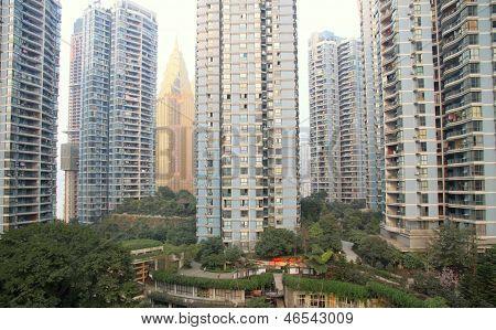 Residential Buildings in Chongqing