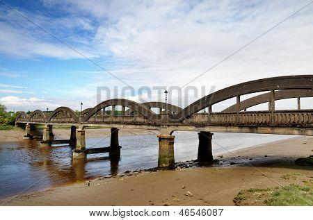Bridge over the River Dee at Kirkcudbright