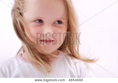 Portrait Of Beautiful Child