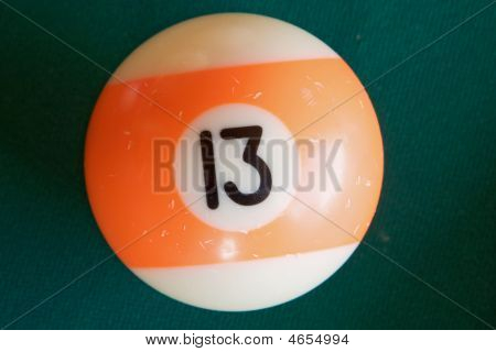Photo Of One Billiard Ball