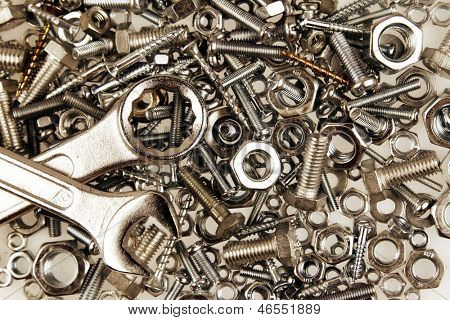 Spanners on nuts and bolts