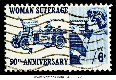 das Frauenwahlrecht 1970