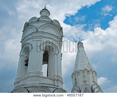 Bell Tower And The Church Of The Ascension, Kolomenskoye